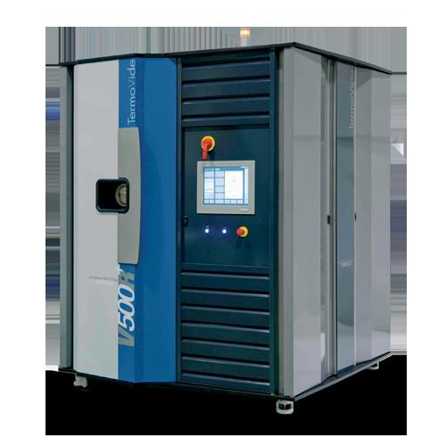 Macchina di lavaggio a ultrasuoni monocamera termovide V500R